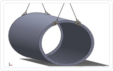 Industrial Lifting Devices, Industrial Lifting Solutions, Lifting Tower Segments